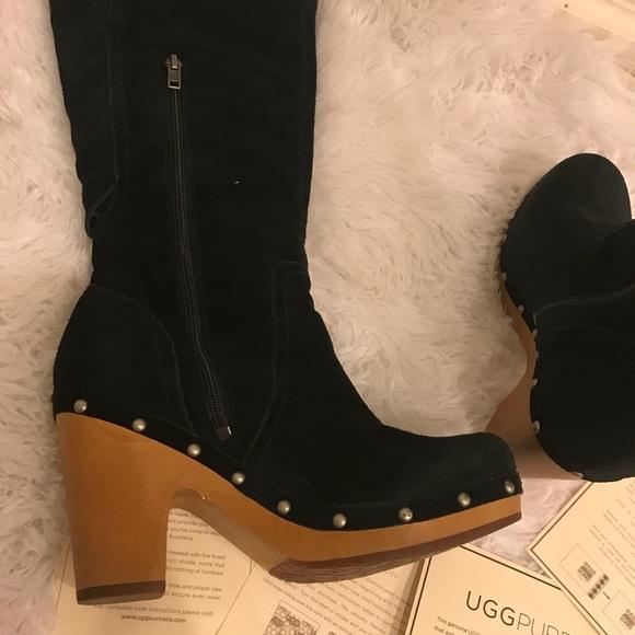 e3e8be7231b0 Ugg Australia Rumer Platform Heel Boot